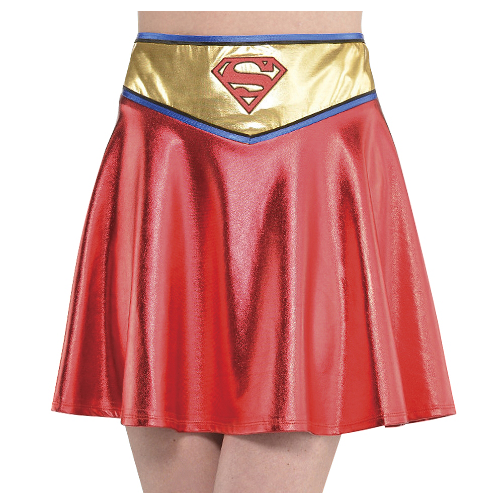Nav Item for Adult Supergirl Skirt - Superman Image #1
