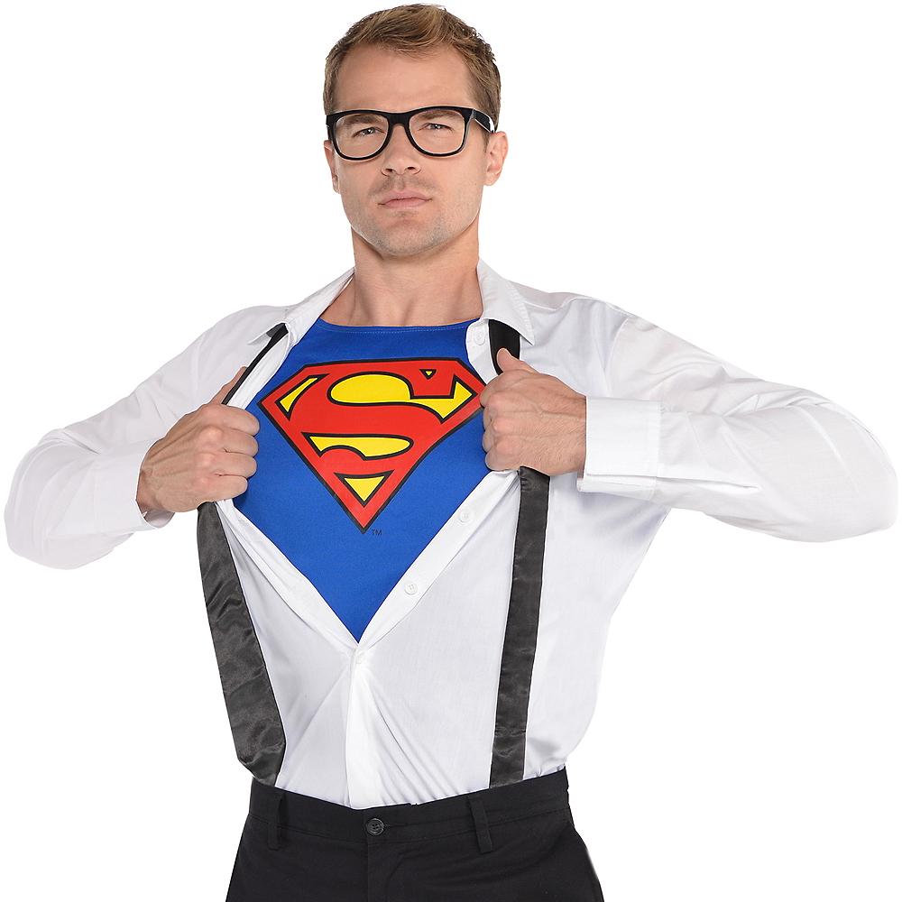 Adult Clark Kent Costume Accessory Kit - Superman Image #1