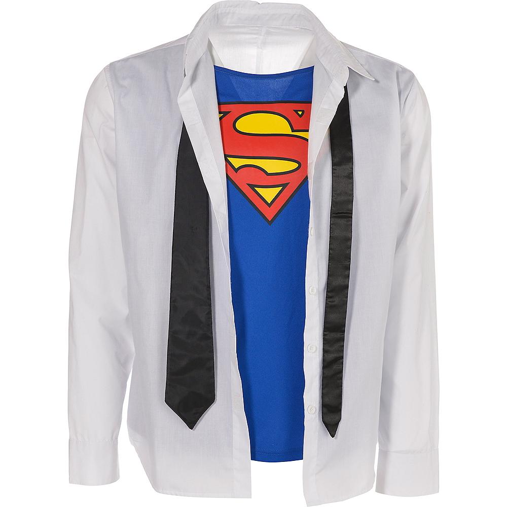 Adult Clark Kent Costume Accessory Kit - Superman Image #3
