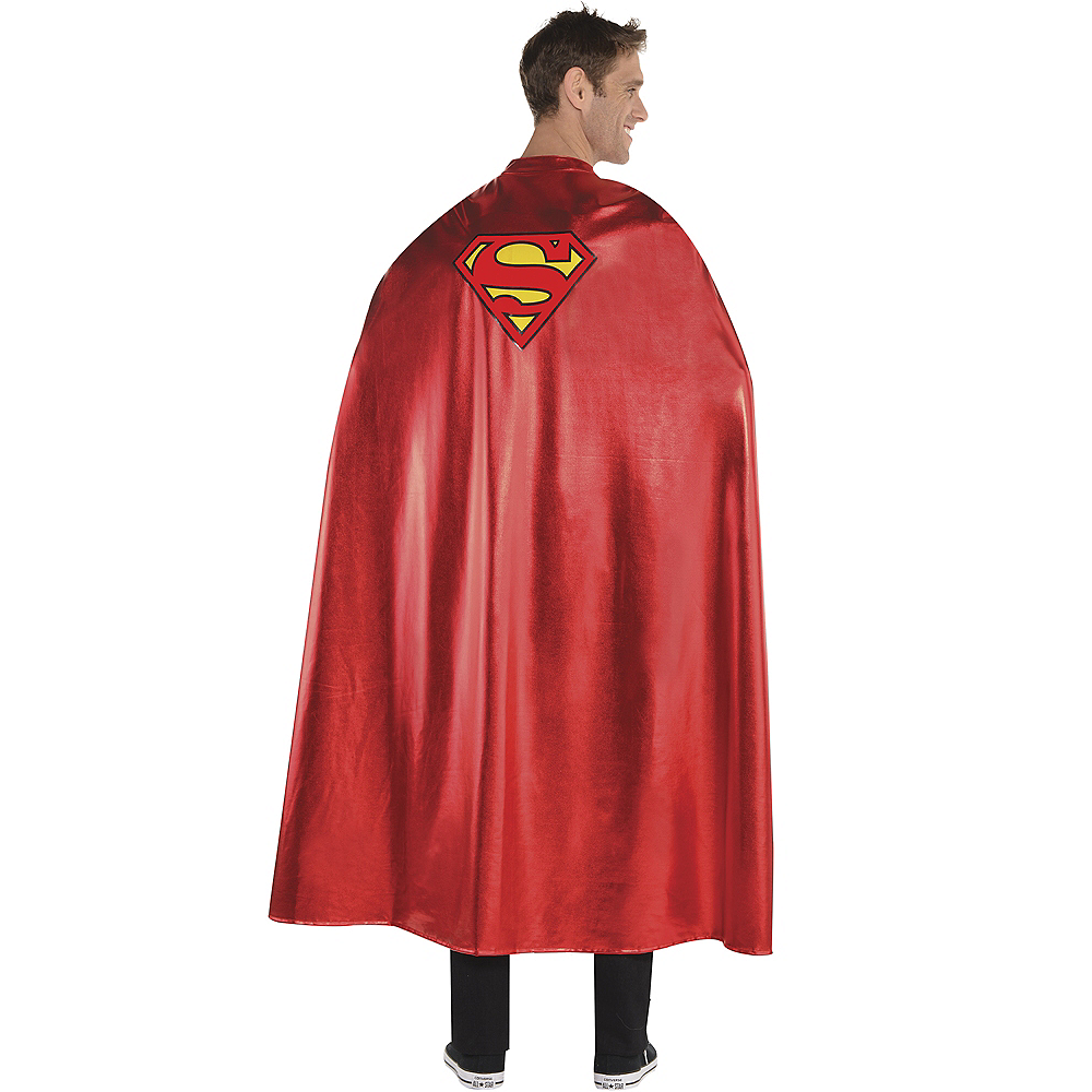 Long Superman Cape Image #1