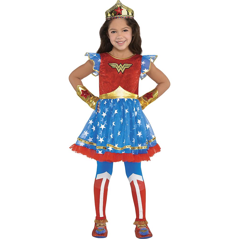 Child Wonder Woman Tutu Dress Image #1