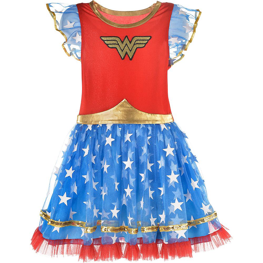 Child Wonder Woman Tutu Dress Image #2