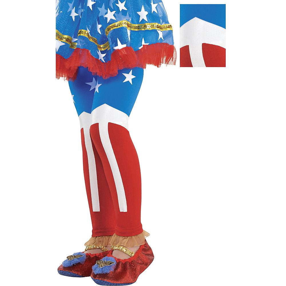Child Wonder Woman Footless Tights Image #1