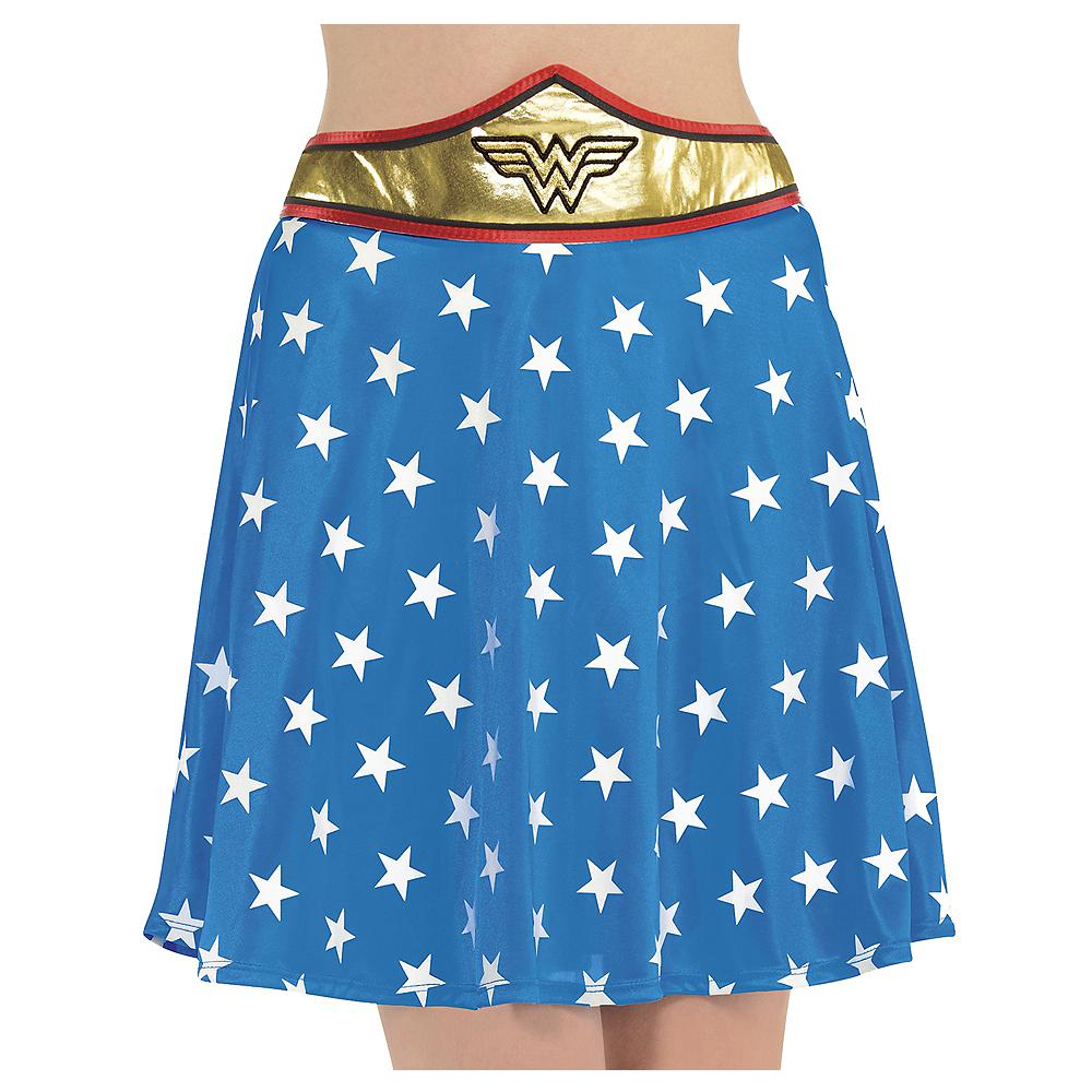 Adult Wonder Woman Skirt Image #1