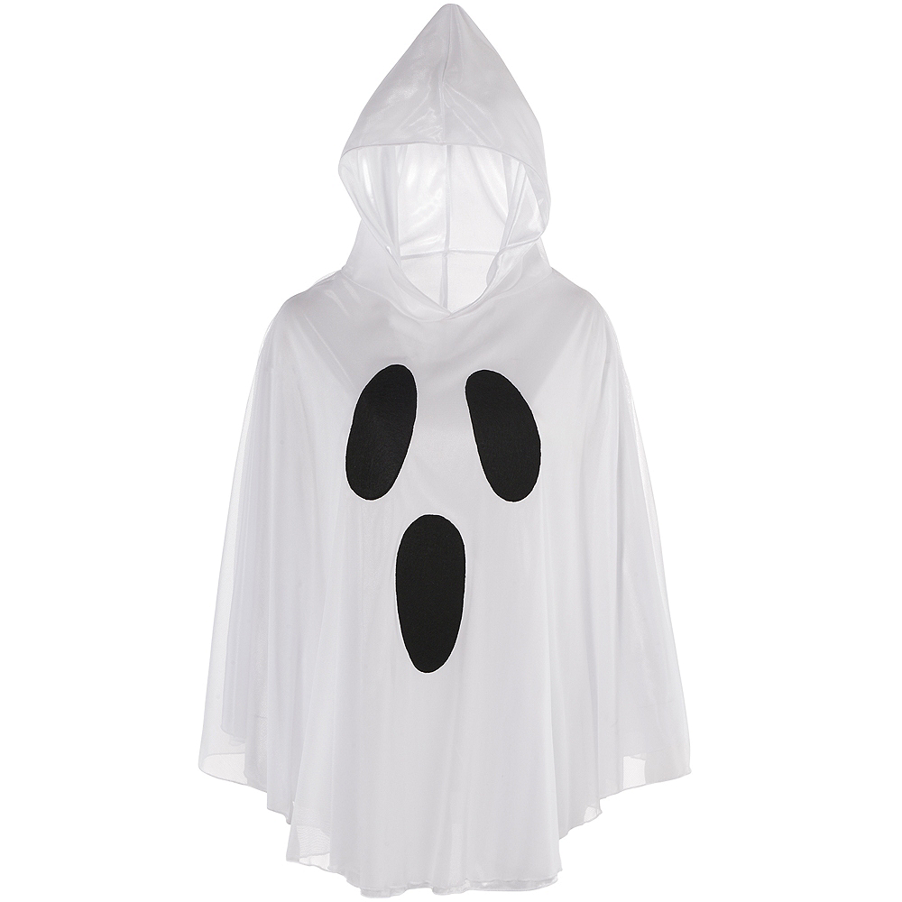 Adult Ghost Poncho Image #2