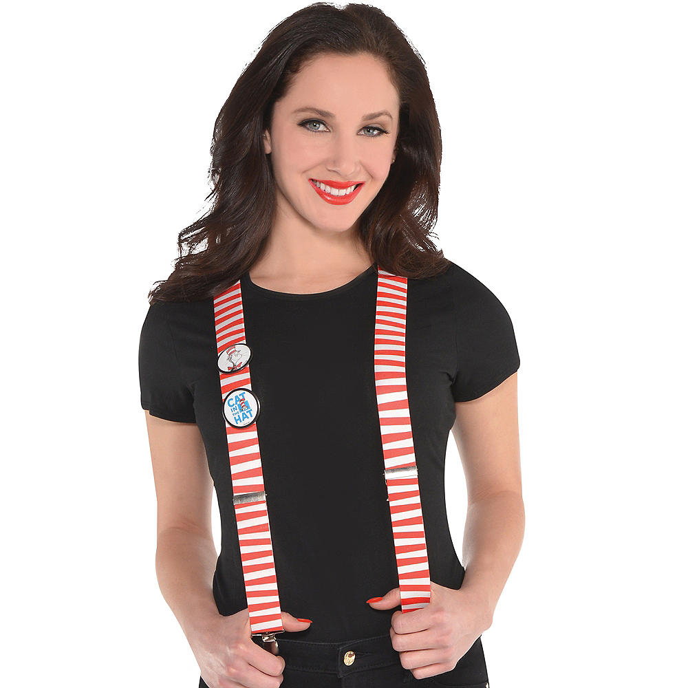 Cat in the Hat Suspenders - Dr. Seuss Image #2