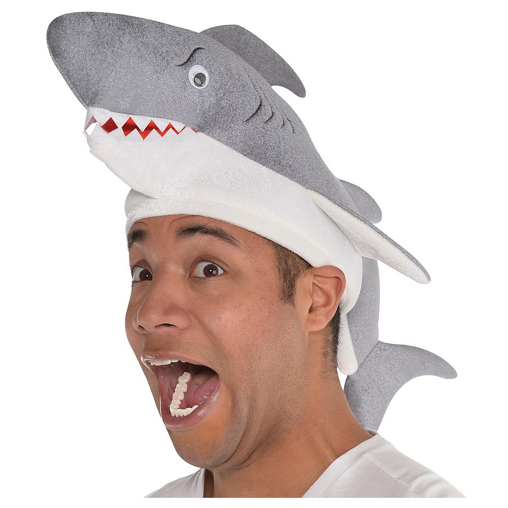 Adult Shark Hat Image #1