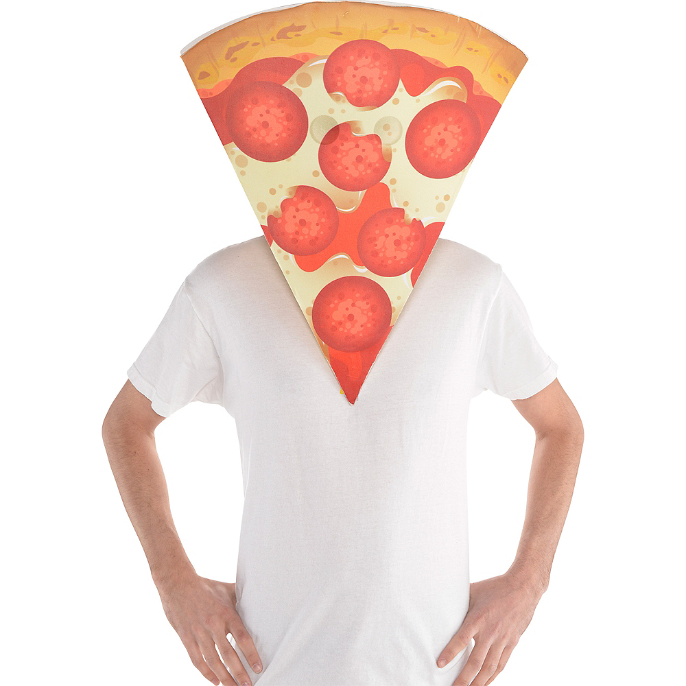 Adult Pizza Mask Image #2