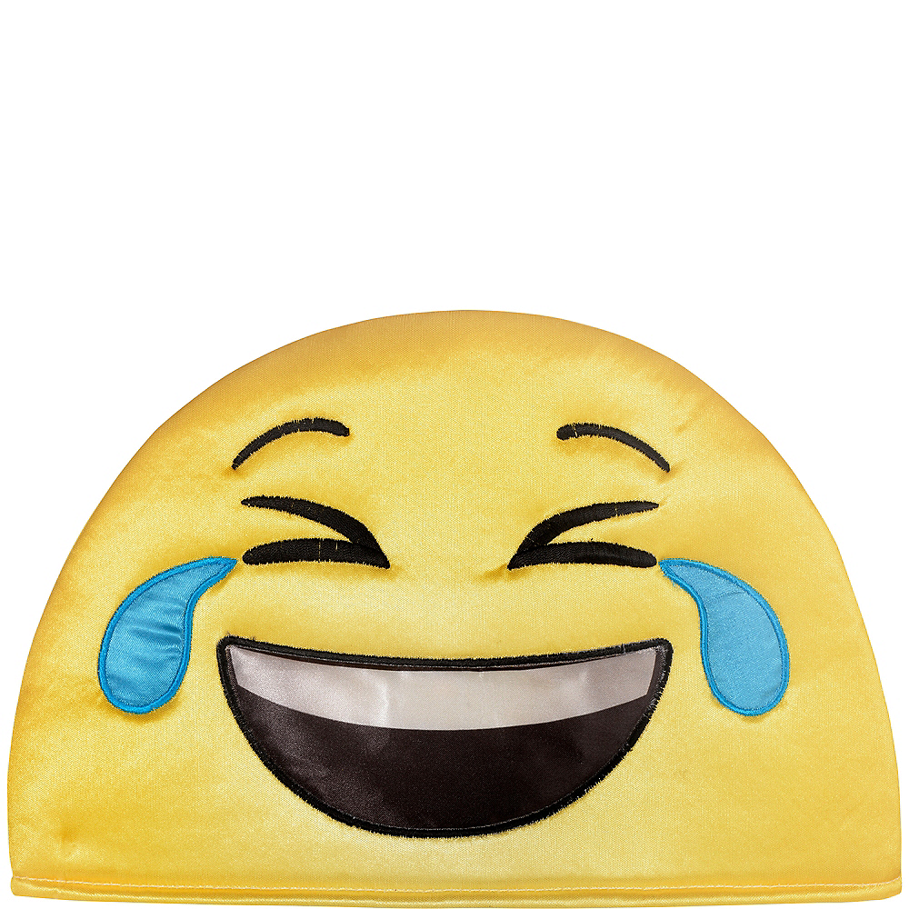 Adult Laughing Crying Smiley Hat Image #2