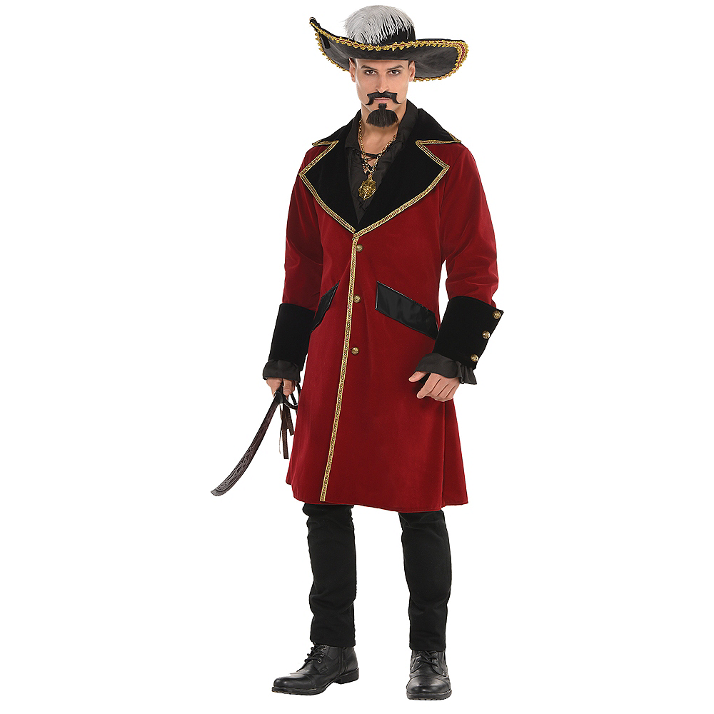 Adult Pirate Captain Jacket Image #1