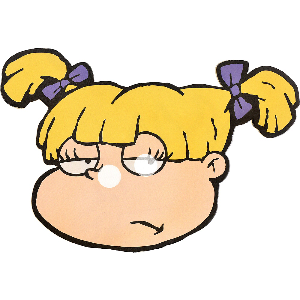 Angelica Pickles Mask - Rugrats Image #1