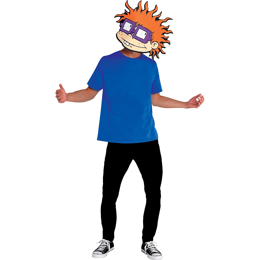 Nav Item for Adult Chuckie Finster Mask - Rugrats Image #2