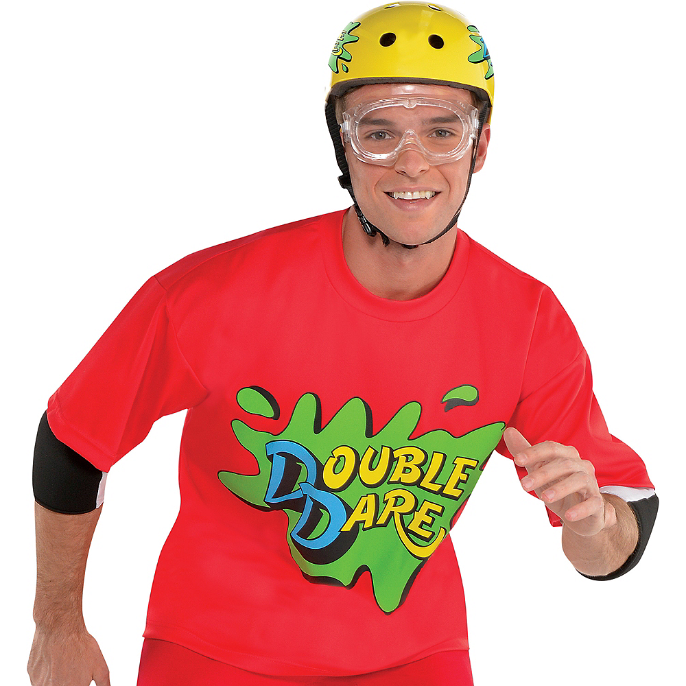 2020 Halloween Costumes Nickelodeon Party City Red Double Dare Costume Accessory Kit   Nickelodeon | Party City