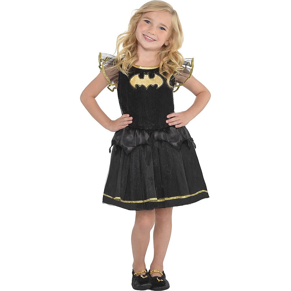 Child Batgirl Tutu Dress - Batman Image #1