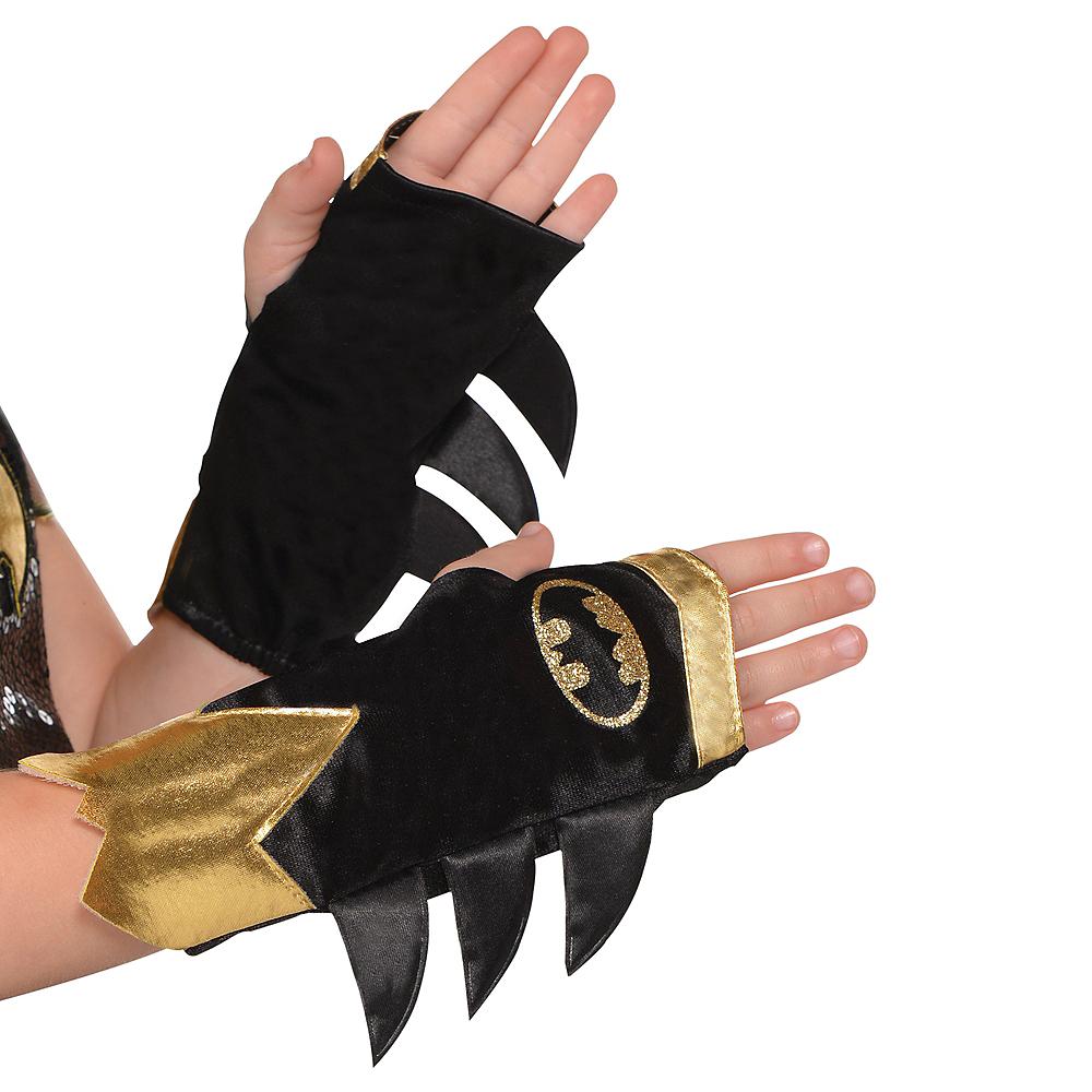 Child Batgirl Arm Warmers - Batman Image #1
