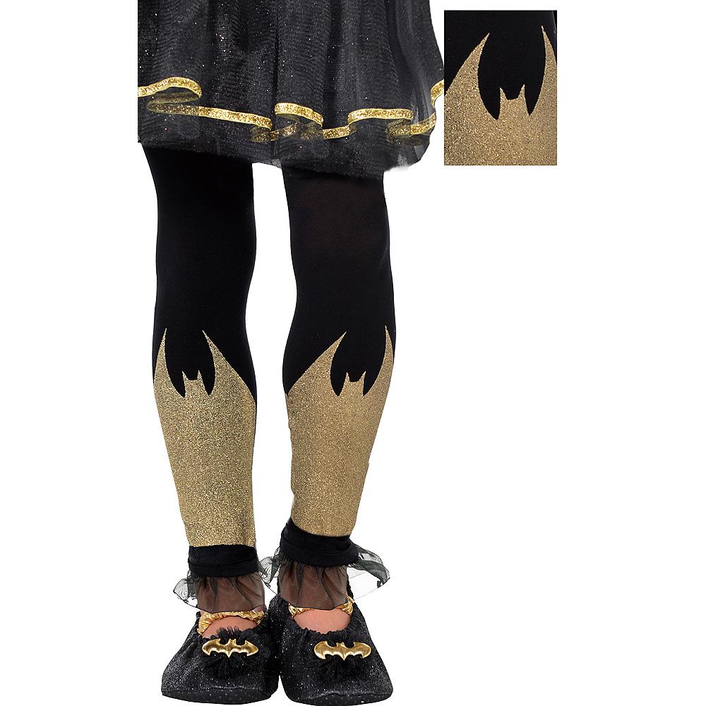 Child Batgirl Footless Tights - Batman Image #1