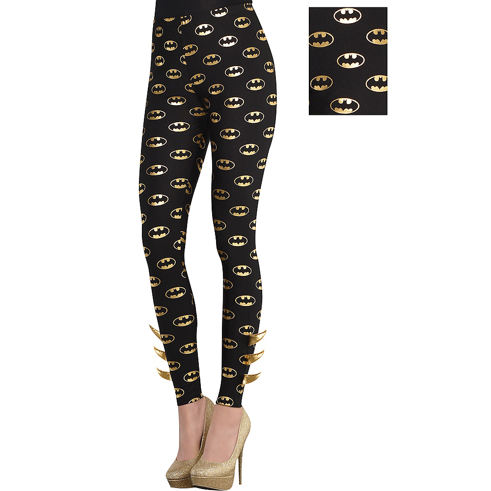Adult Batgirl Leggings - Batman Image #1
