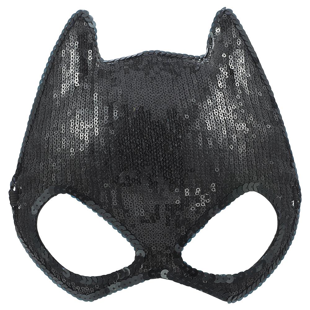 Sequin Batgirl Mask - Batman Image #1
