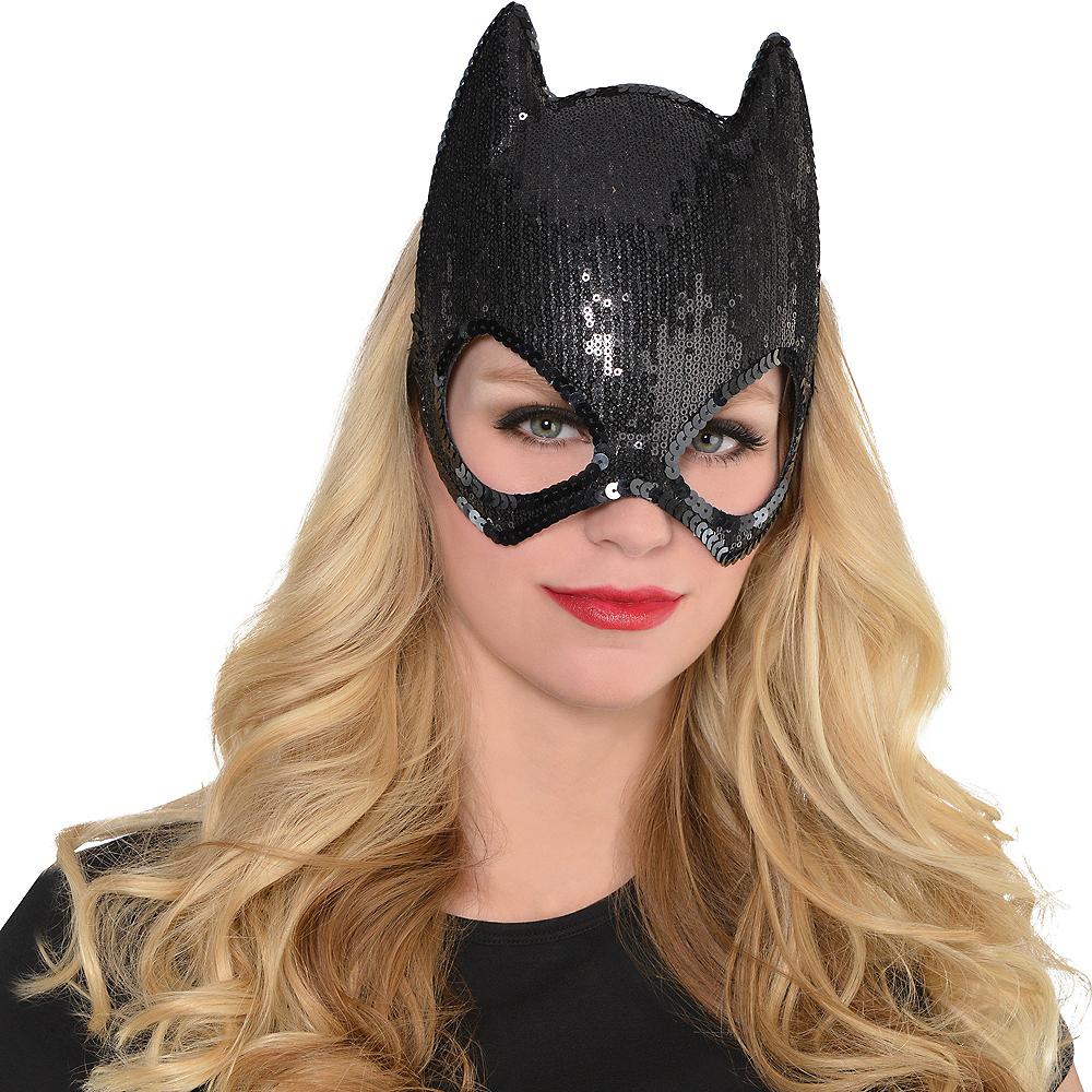 Sequin Batgirl Mask - Batman Image #2