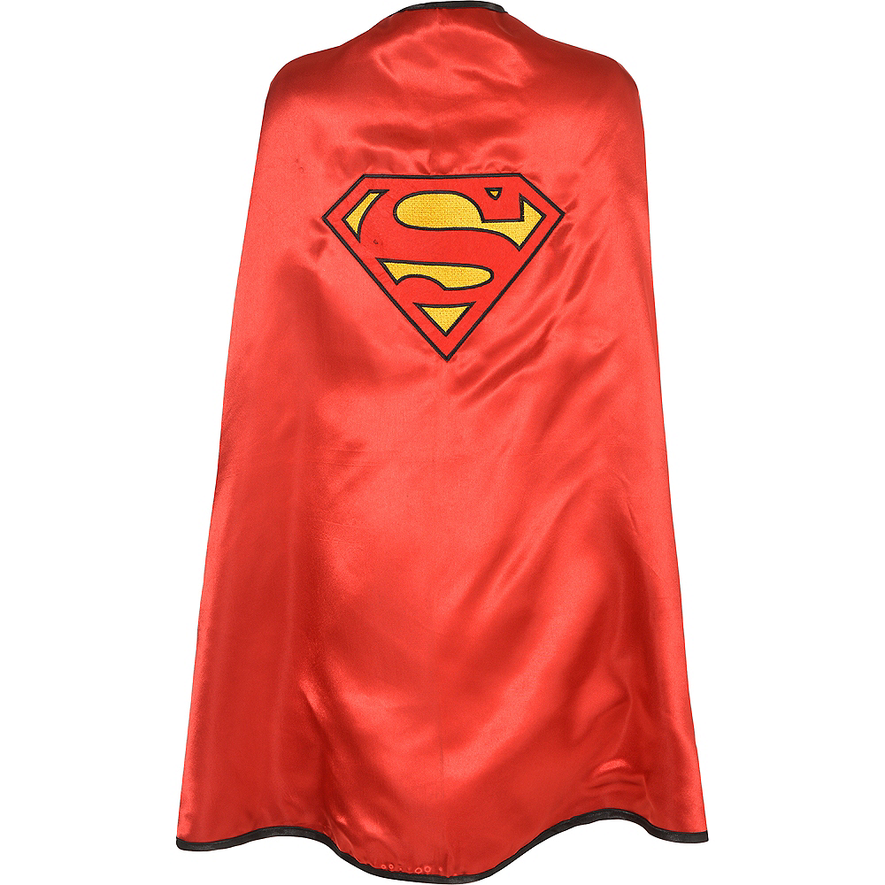Reversible Batman & Superman Cape Image #3