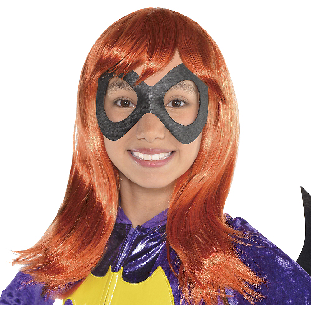 Child Sassy Batgirl Wig - DC Super Hero Girls Image #1