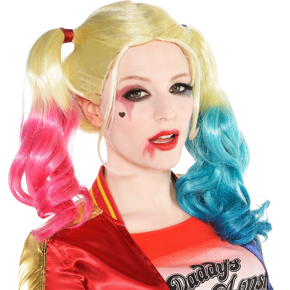 Nav Item for Adult Harley Quinn Makeup Kit - Suicide Squad Image #2