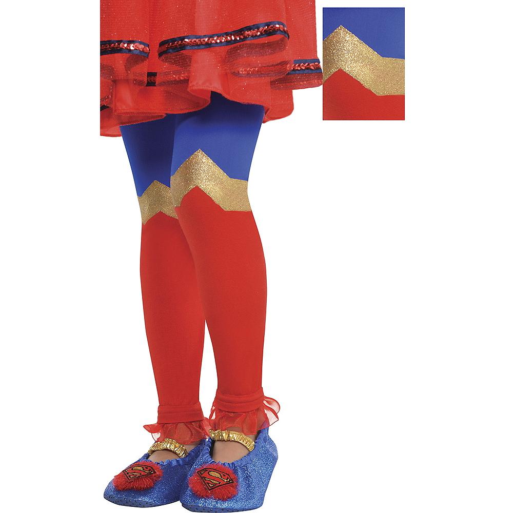 Child Supergirl Footless Tights - Superman Image #1