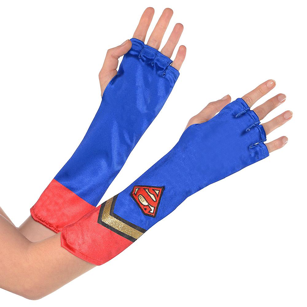 Adult Supergirl Gauntlets - Superman Image #1