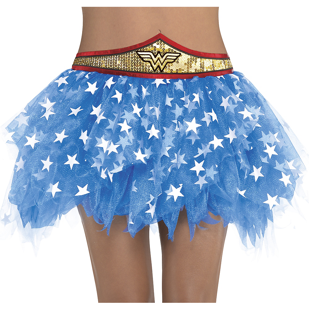 Adult Wonder Woman Tutu Image #1