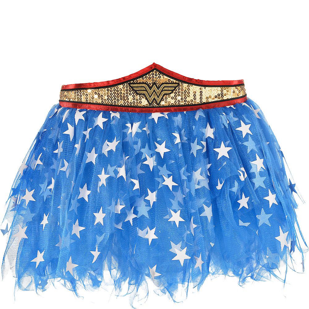 Adult Wonder Woman Tutu Image #2