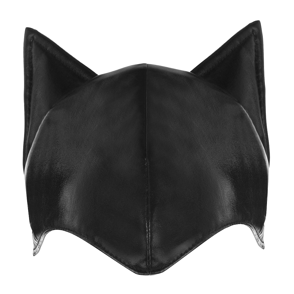 Adult Black Cat Ears Hat Image #1