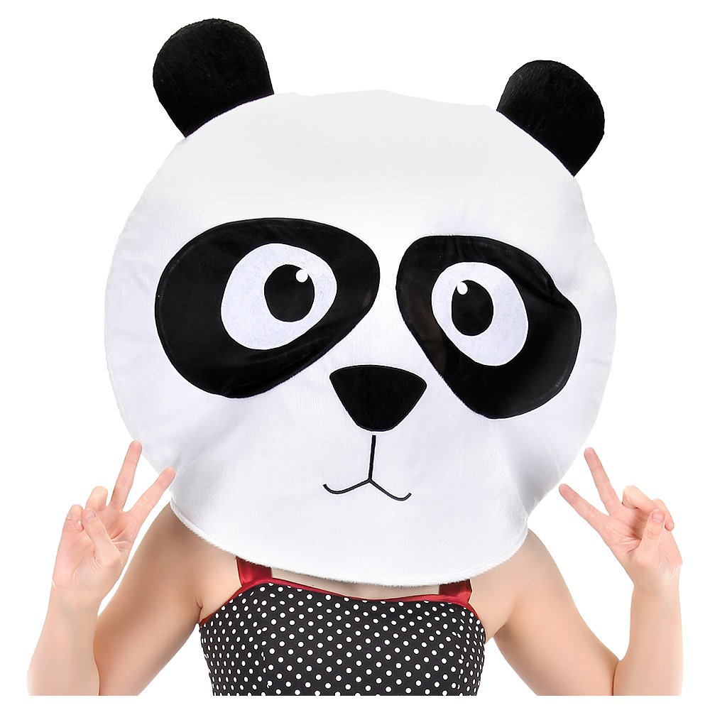 Nav Item for Adult Panda Mask Image #1