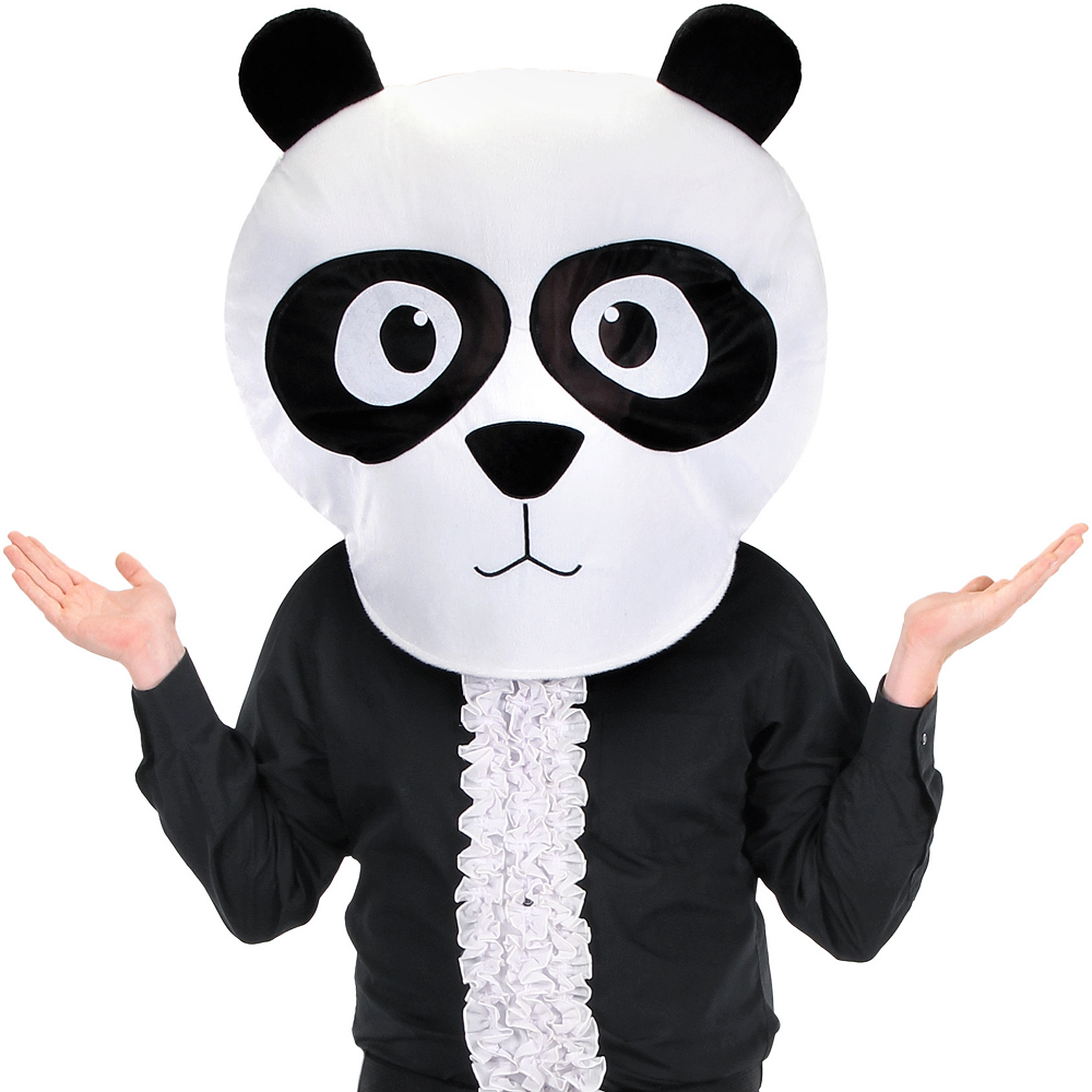 Nav Item for Adult Panda Mask Image #3