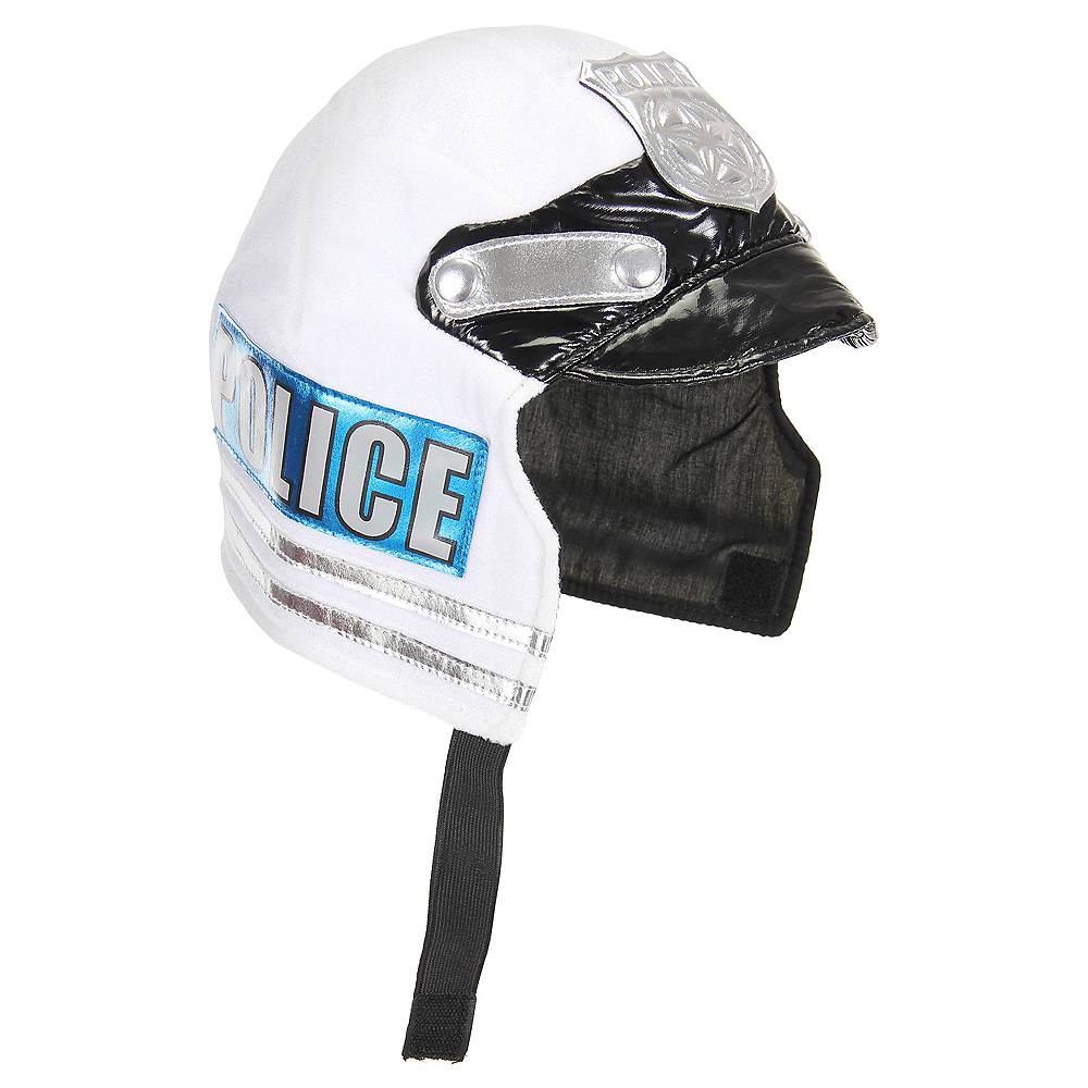 Child Plush Police Helmet Image #1