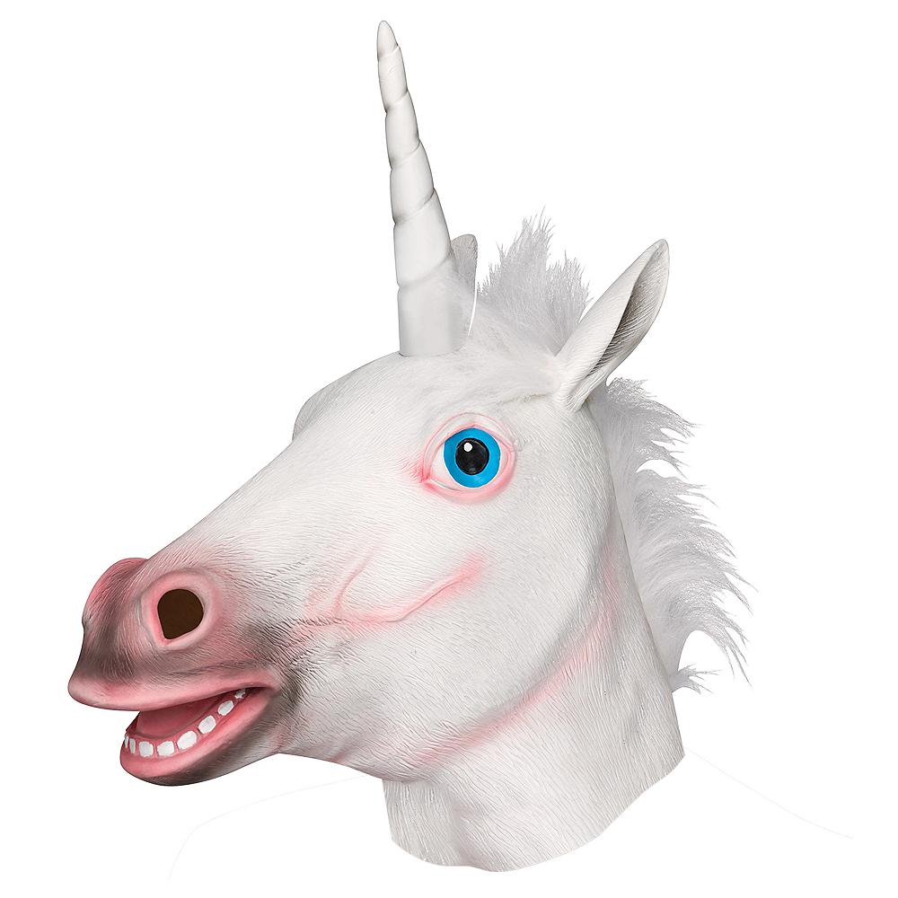 Adult Unicorn Mask Image #1