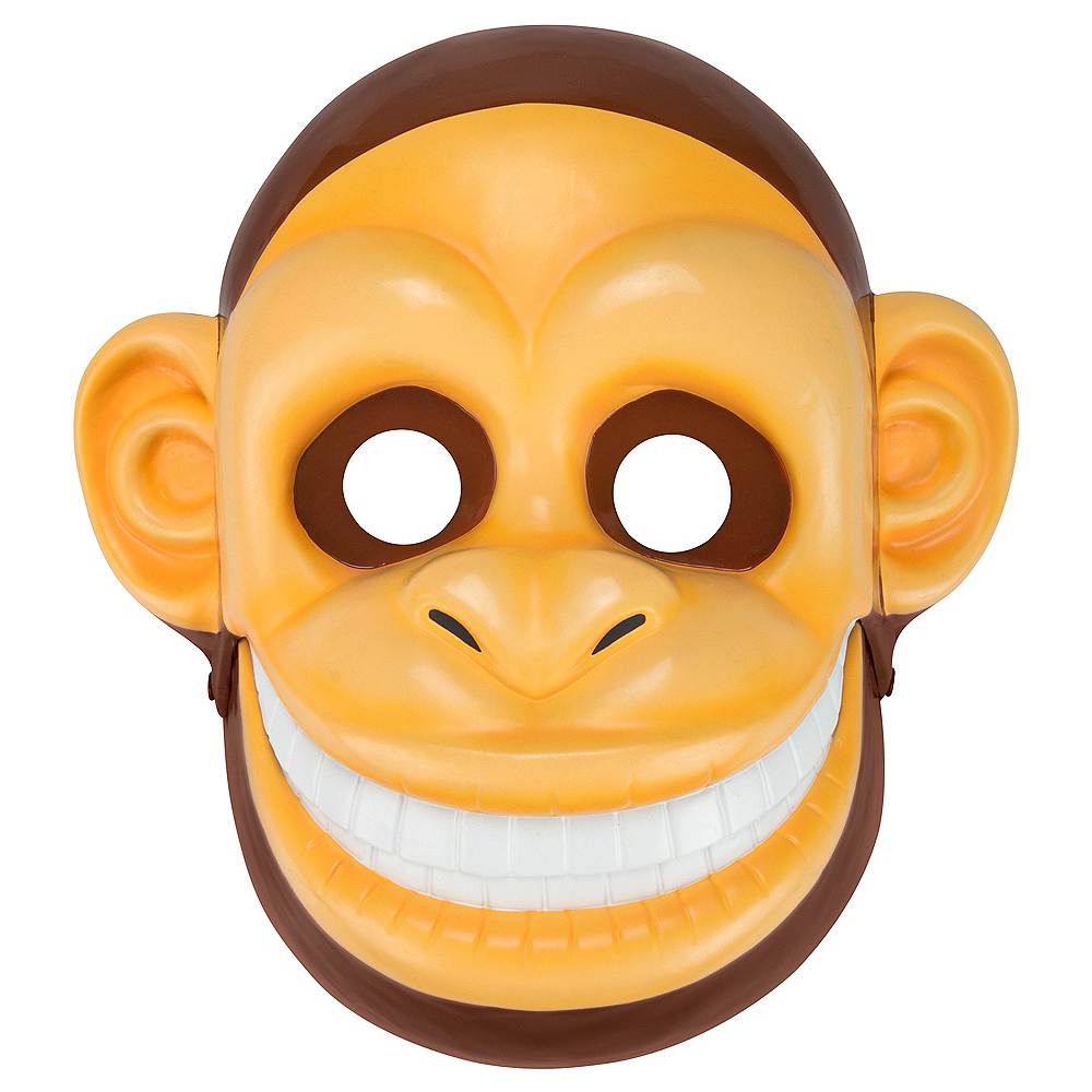 Adult Talking Monkey Mask with Moving Mouth Image #1