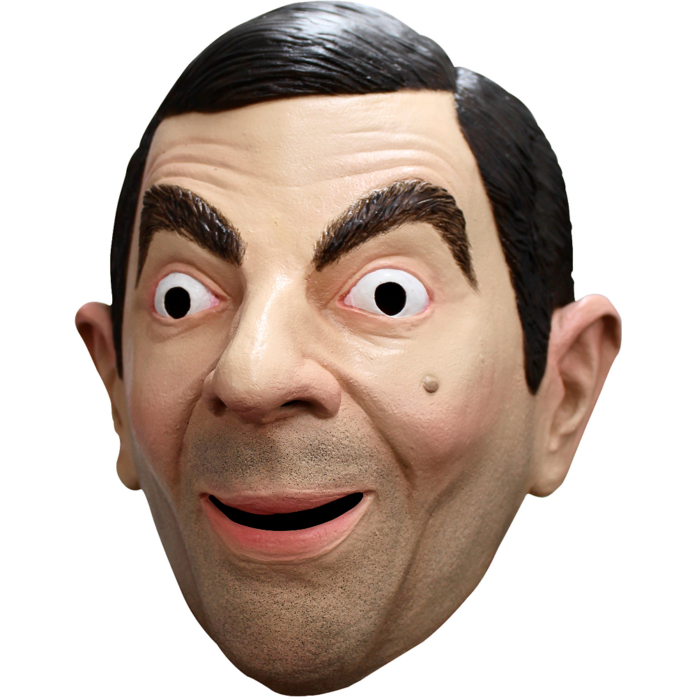 Adult Mr. Bean Mask Image #2