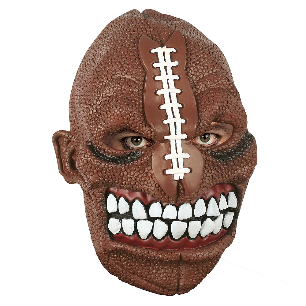Adult Sports Freak Mask Image #1
