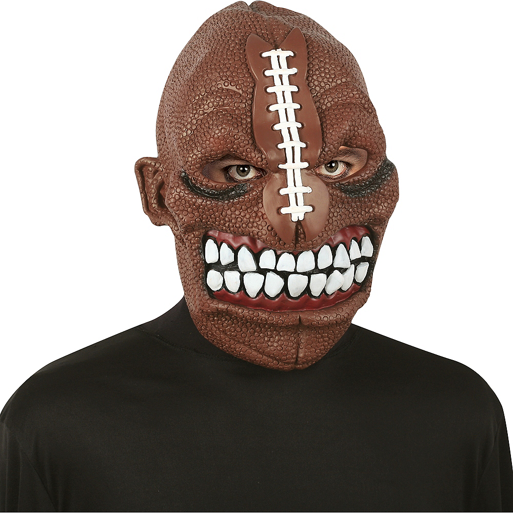 Adult Sports Freak Mask Image #2