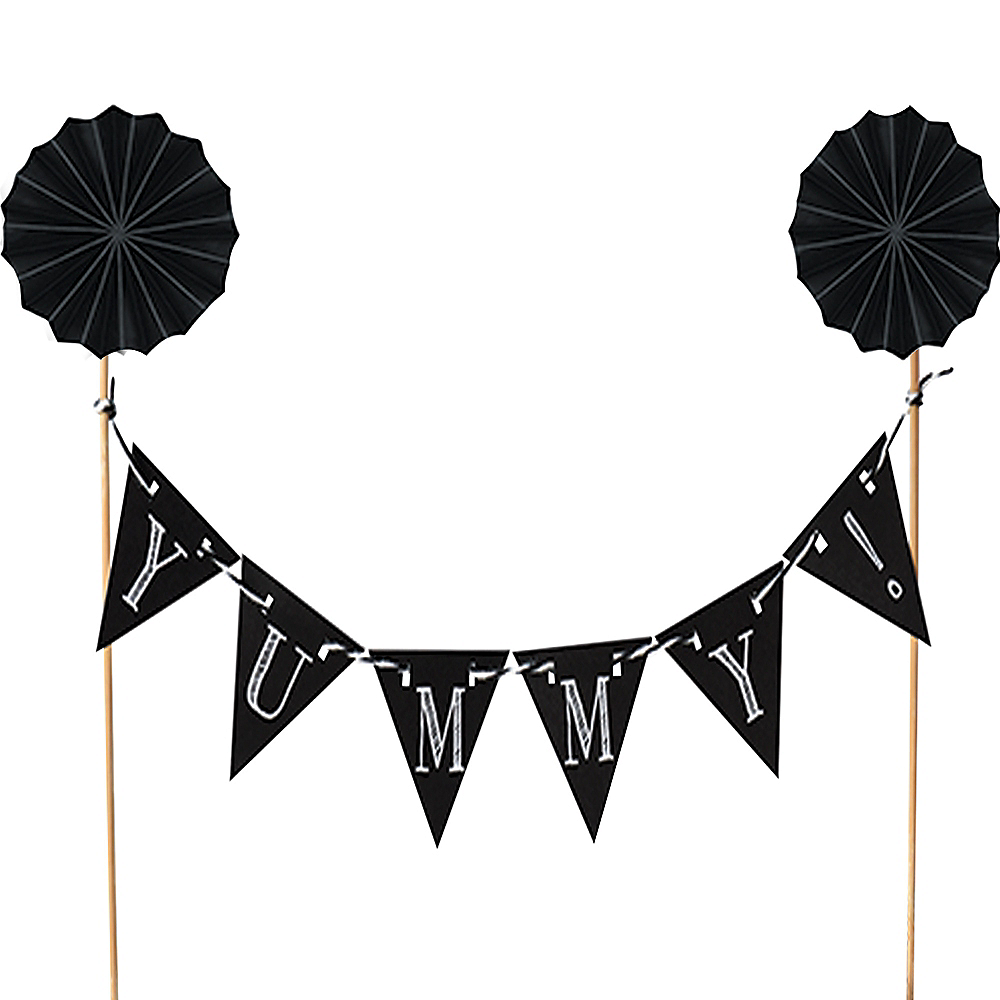 Chalkboard Pennant Banner Party Decoration
