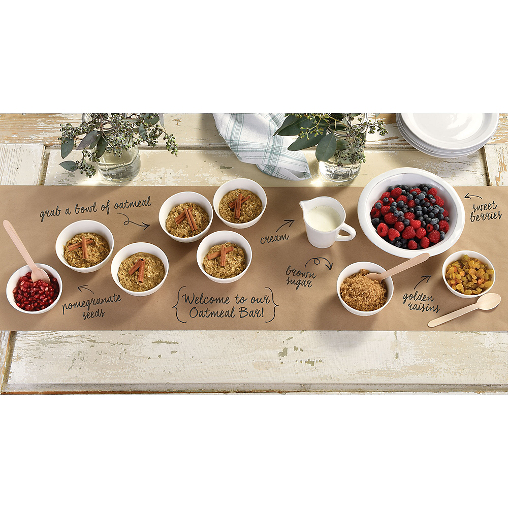 Kraft Paper Table Runner Image #2