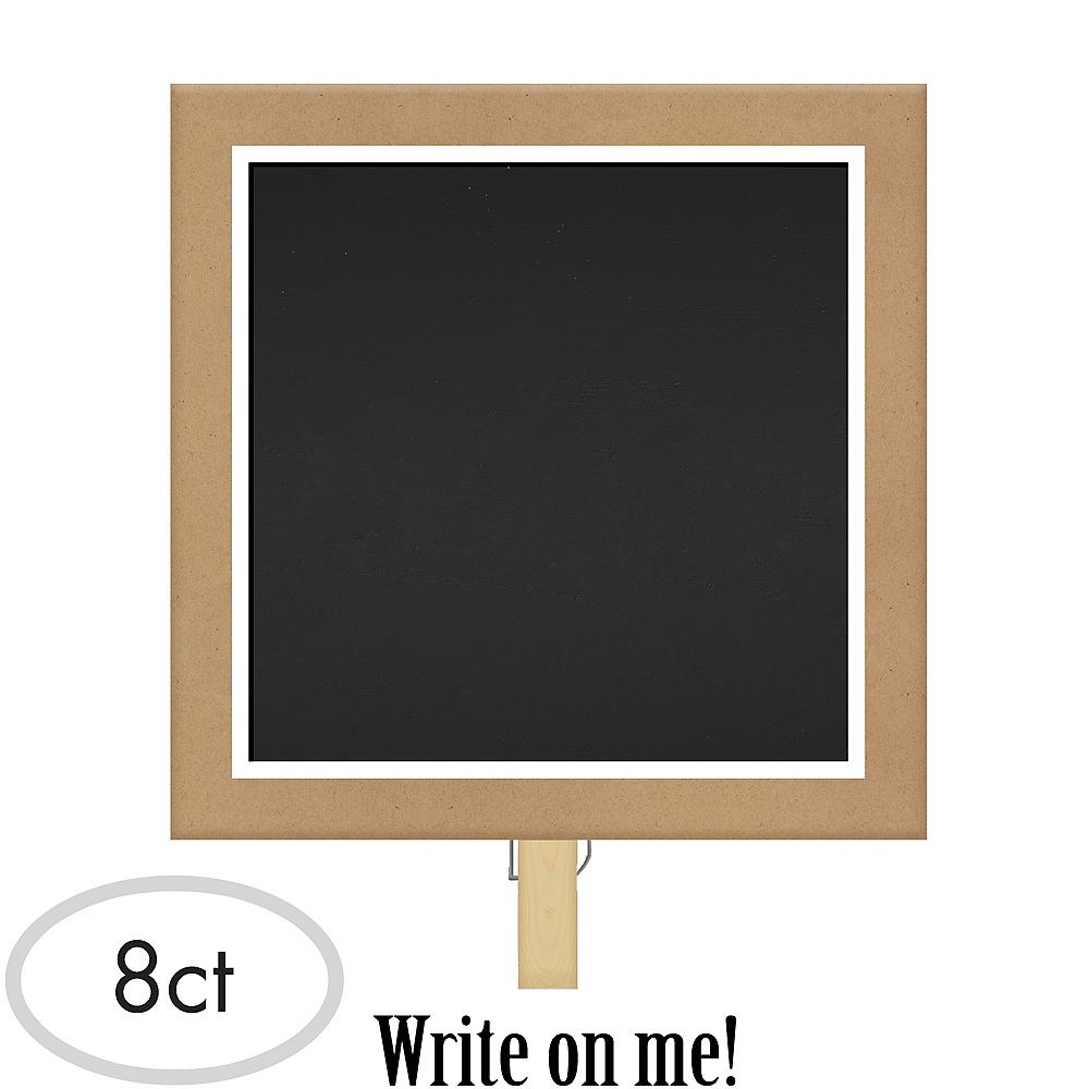 Chalkboard Clips 8ct Image #1