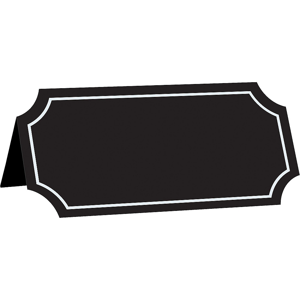 Chalkboard Place Cards 25ct Image #1