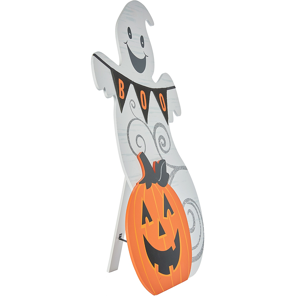 Ghost & Jack-o-Lantern Table Sign Image #2