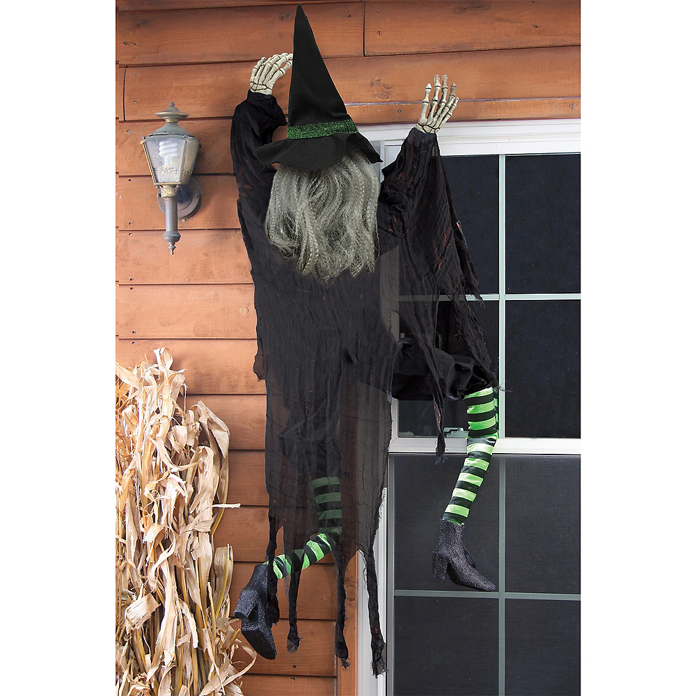 Wall Climbing Witch Image #2
