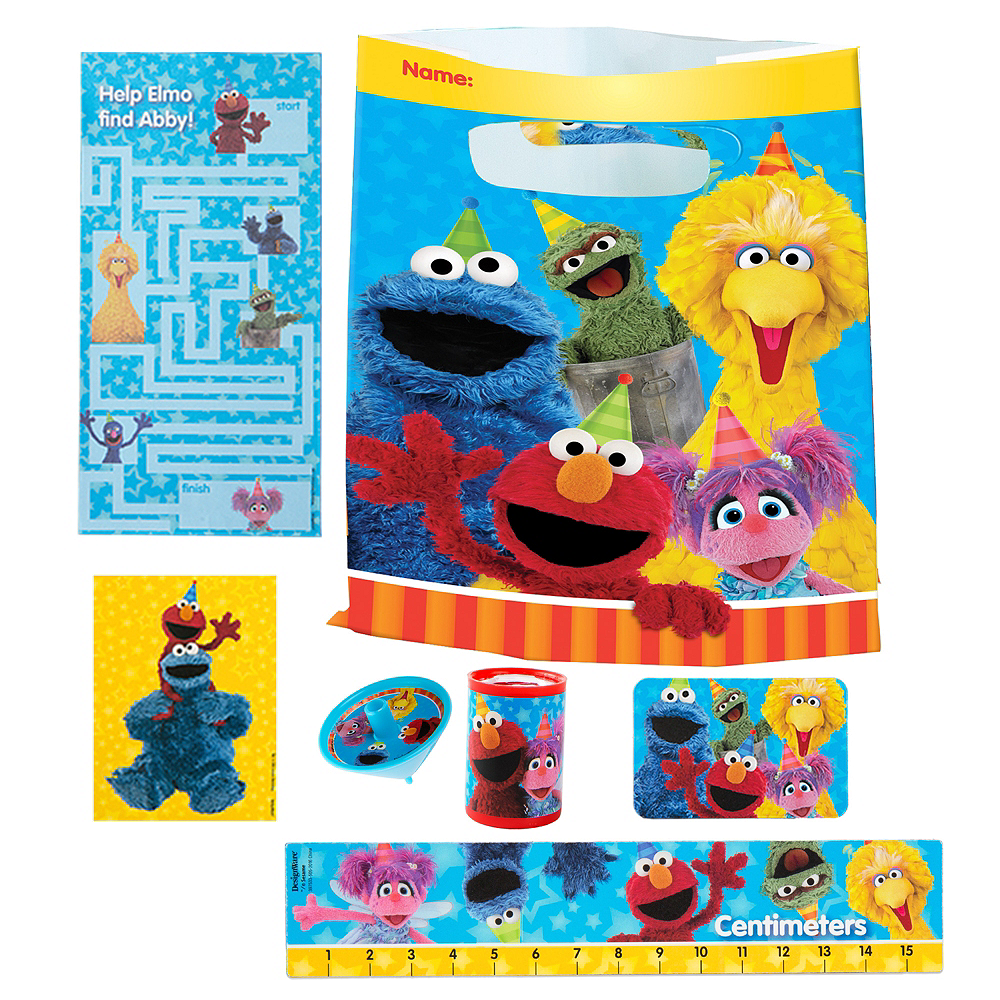 Nav Item for Sesame Street Basic Favor Kit for 8 Guests Image #1