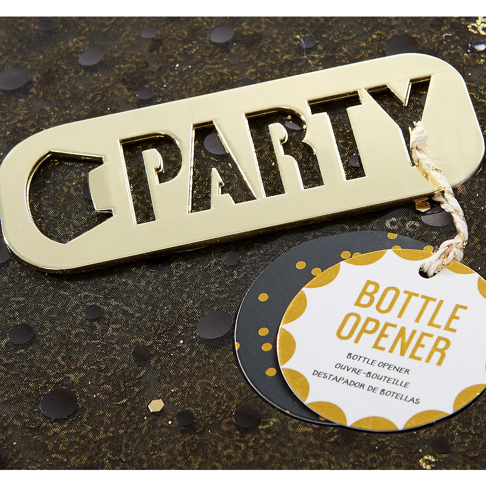 Gold Party Bottle Opener Image #1
