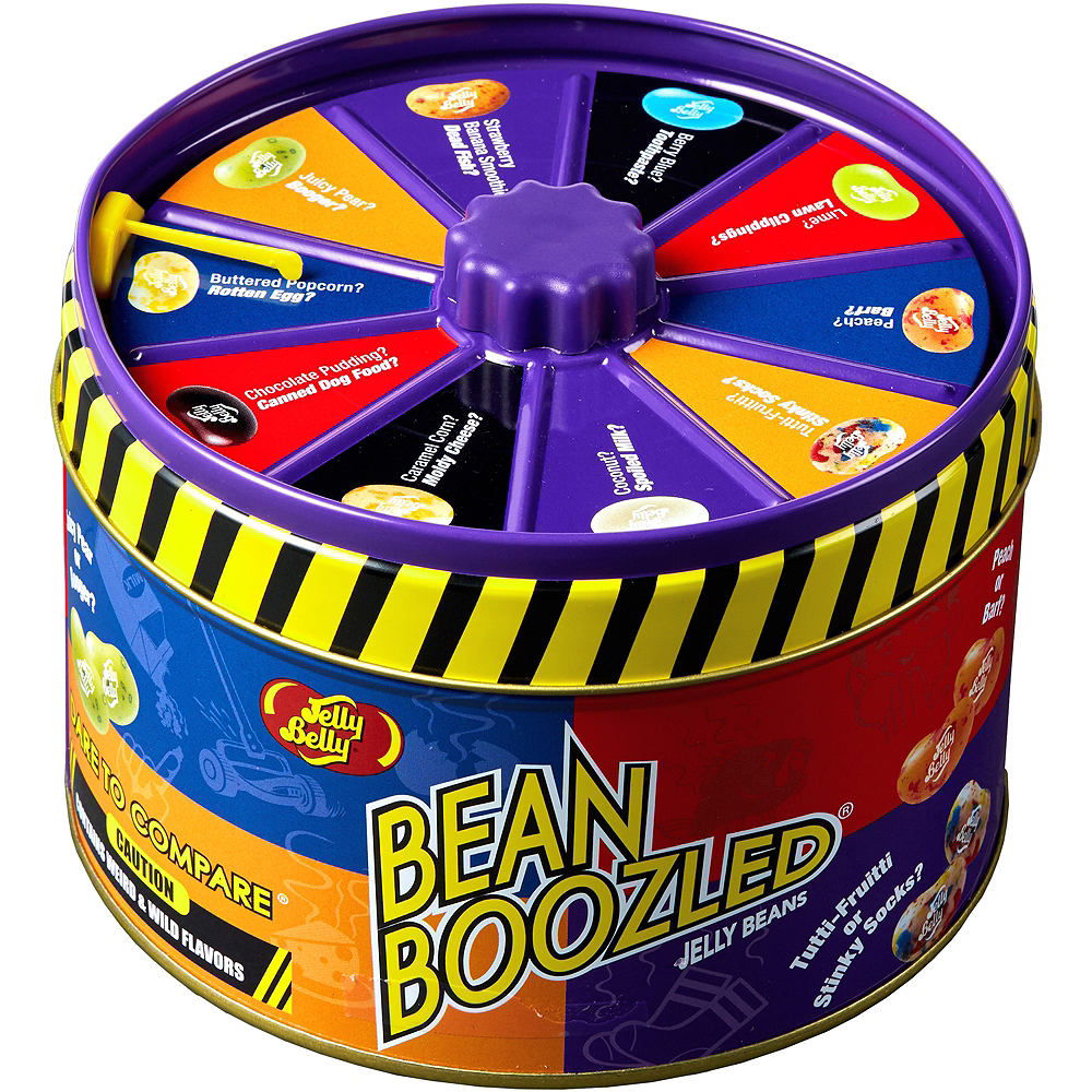 Jelly Belly BeanBoozled Jelly Beans & Spinner Tin Image #1