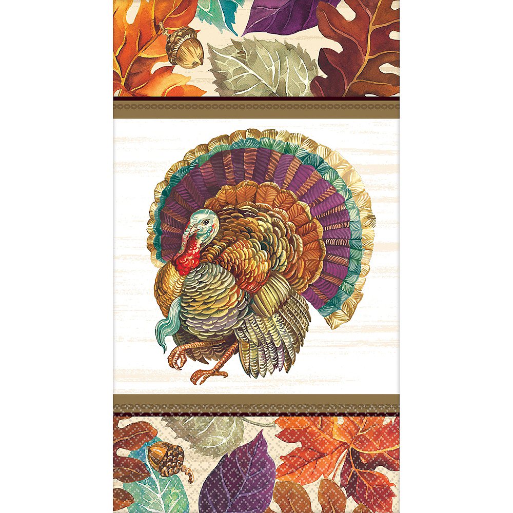 Traditional Thanksgiving Guest Towels 16ct Image #1