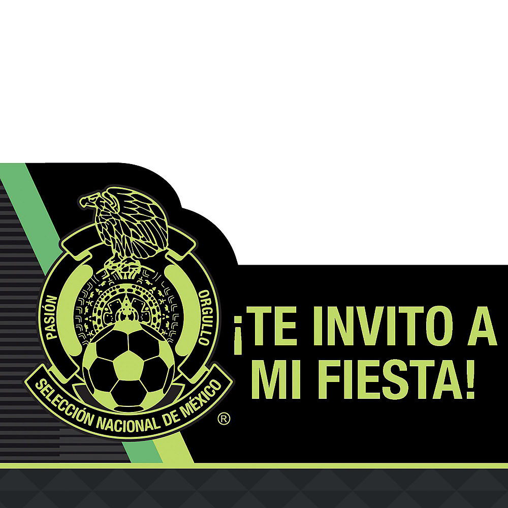 Mexico National Team Invitations 8ct Image #1
